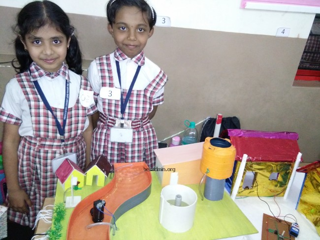 science exhibition at presentation cbse school dharwad bethany