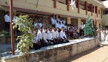 Christmas at St. Mary's High School, Arsikere.