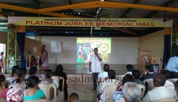 PARENTS MEET OF PRESENTATION HR.PRY SCHOOL, DHARWAD.