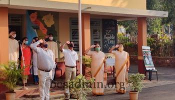 Republic Day Celebration at Bethany Convent High School,Sao Jose de Areal Salcete, Goa