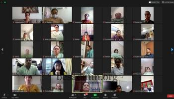 VIRTUAL MORNING MEETS IN SACRED HEART