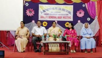 PARENTS TEACHERS MEETING OF KG SECTION