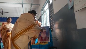 School Visit by BES Secretary- St Joseph's High School, Kankanady
