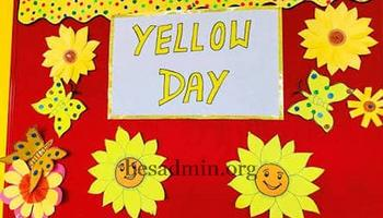 Yellow and Shapes Day