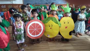 Fruits and vegetable Day Celebration