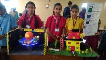 Science and Handicraft Exhibition in Presentation Primary School, Dharwad
