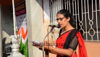 Republic Day Celebration St Theresa's School, Bendur, Mangaluru