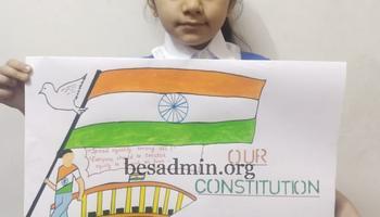 Constitution Day Celebration at  Stella Maris Convent School, Sultanpur