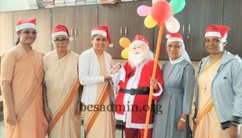 Christmas & New Year Celebrations at Bethany Pre- Primary Mankalale, Sagar
